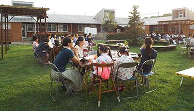 7月 夏のガーデンパーティ